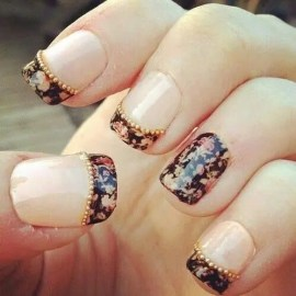 10 Stunning Wedding Day Nails from Rebecca Loves Weddings www.rebeccaanderton.co.uk