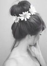 Floral Wedding Hair Ideas from Rebecca Loves Weddings www.rebeccaanderton.co.uk