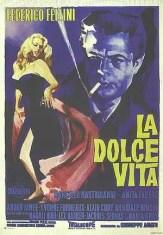 Sixties Wedding Style File - La Dolce Vita poster from Rebecca Loves Weddings www.rebeccaanderton.co.uk