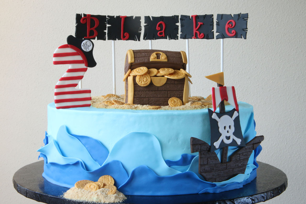Pirate Birthday Cake Rebecca Cakes Amp Bakes