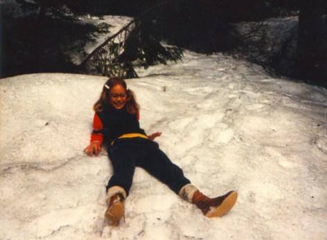 My 12-yr-old self. Taking a break.