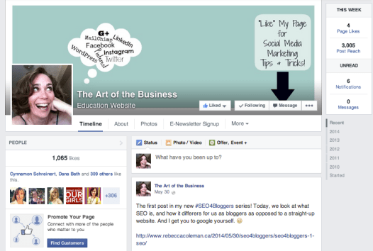 New Facebook Pages Interface June 5