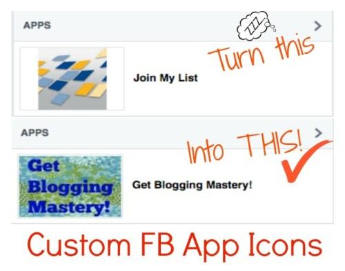 FB Custom App Icon