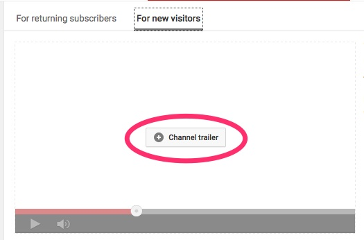 Create a YouTube Channel Trailer Video