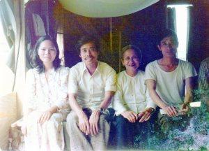 A Vietnamese family
