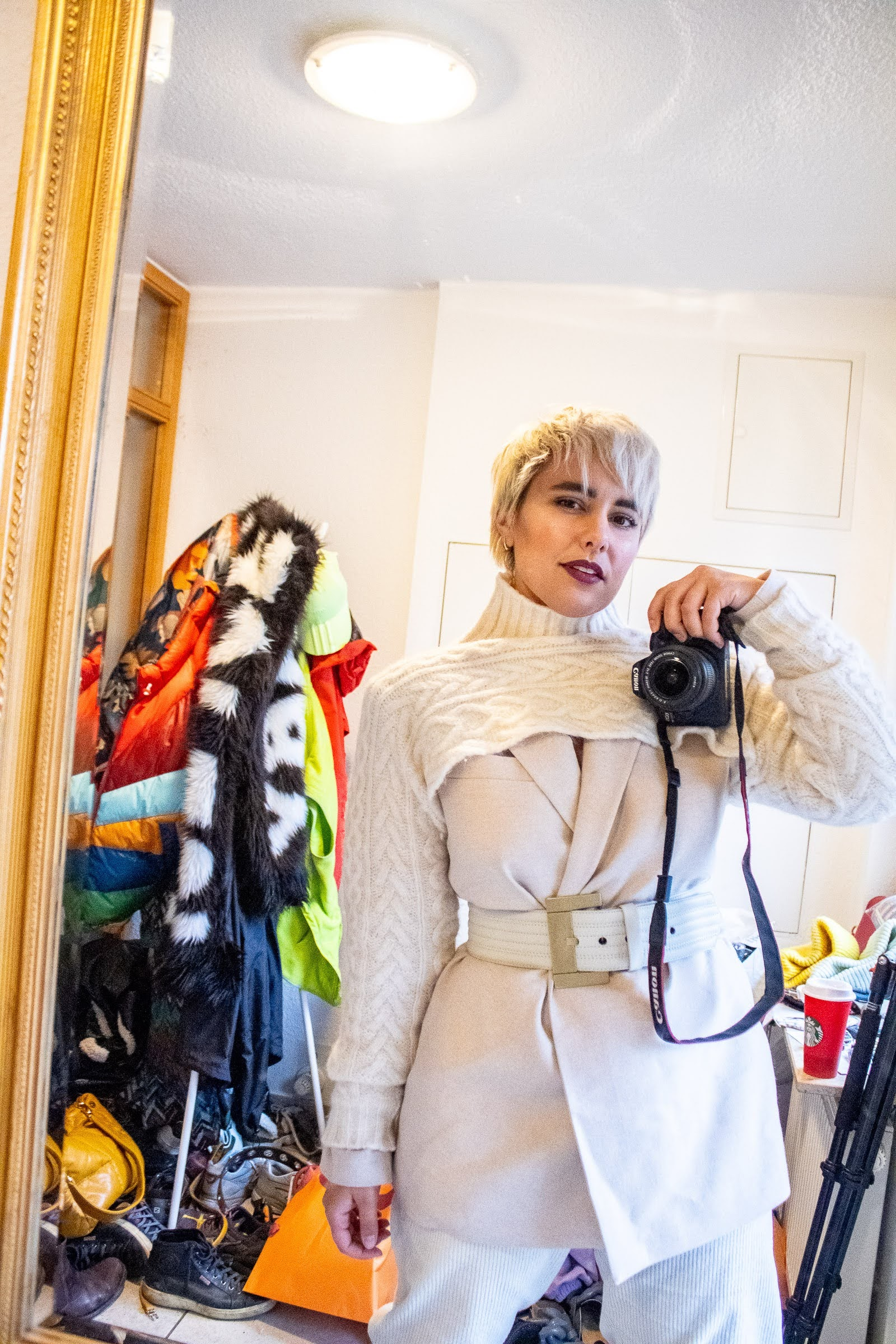 Winter White Style Challenge @RebeccaInEurope