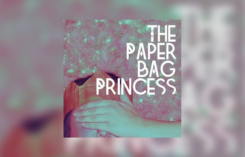 """Cover image for the short story """"The Paper Bag Princess"""" by Rebecca Jones-Howe"""