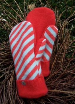 Bright fun Madawaska Mittens