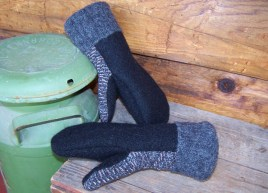 MAN-ly mittens... No buttons