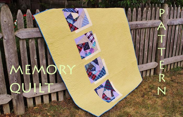 modern memory quilt pattern tutorial