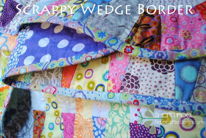 wedge quilt border