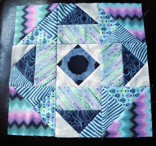 block of the month quilt block