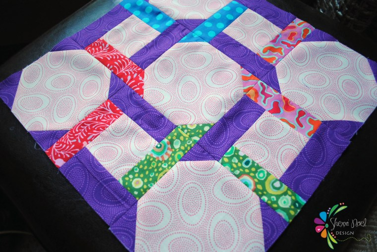 partial seams quilt block tutorial