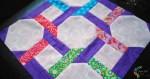 quilt block with partial seams tutorial