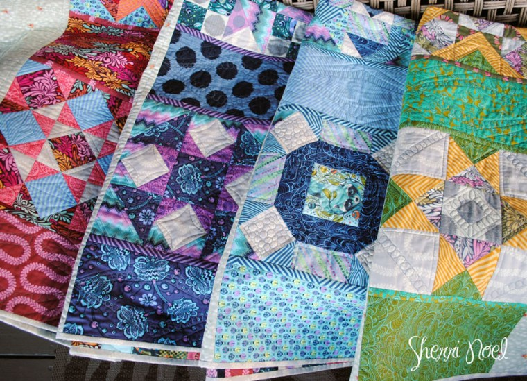 MODERN BLOCK OF THE MONTH QUILT