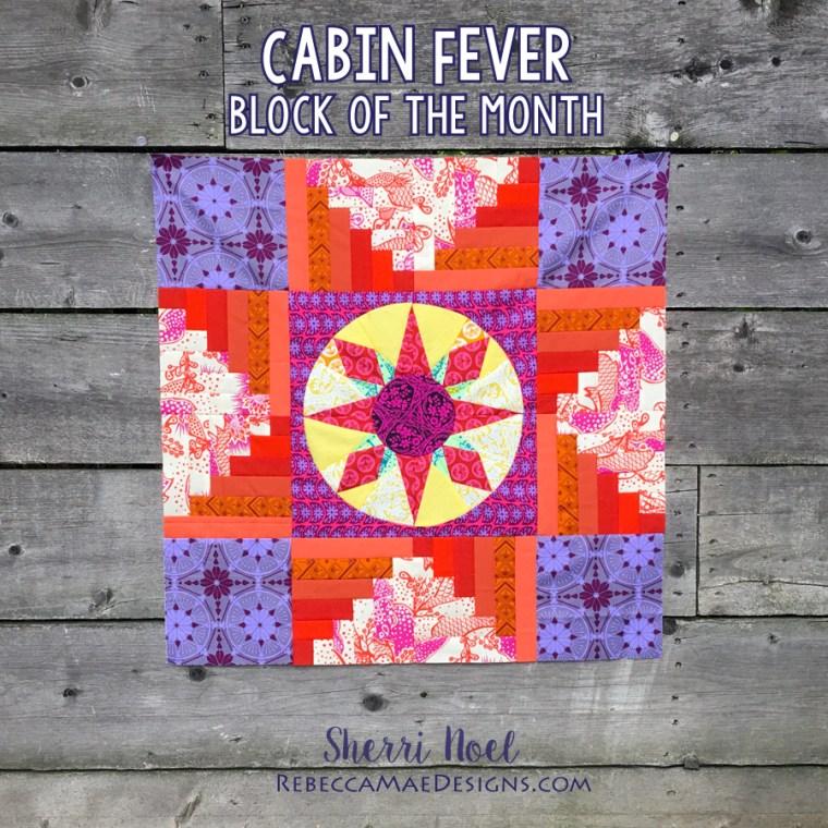 Cabin Fever BOM ~log cabin quilt