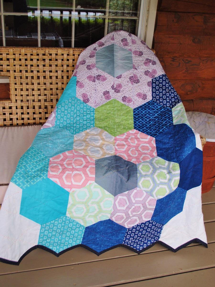 Modern Hand Quilting Patterns : Modern Quilt Pattern ~ Modern Gypsy