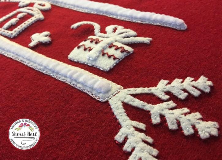 Scandinavian Christmas Quilt Block of the Month Pattern
