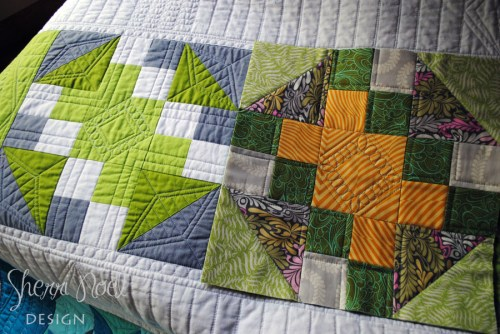 block 12 block of the month quilt