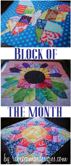 Block of the Month in Kaffe Fassett