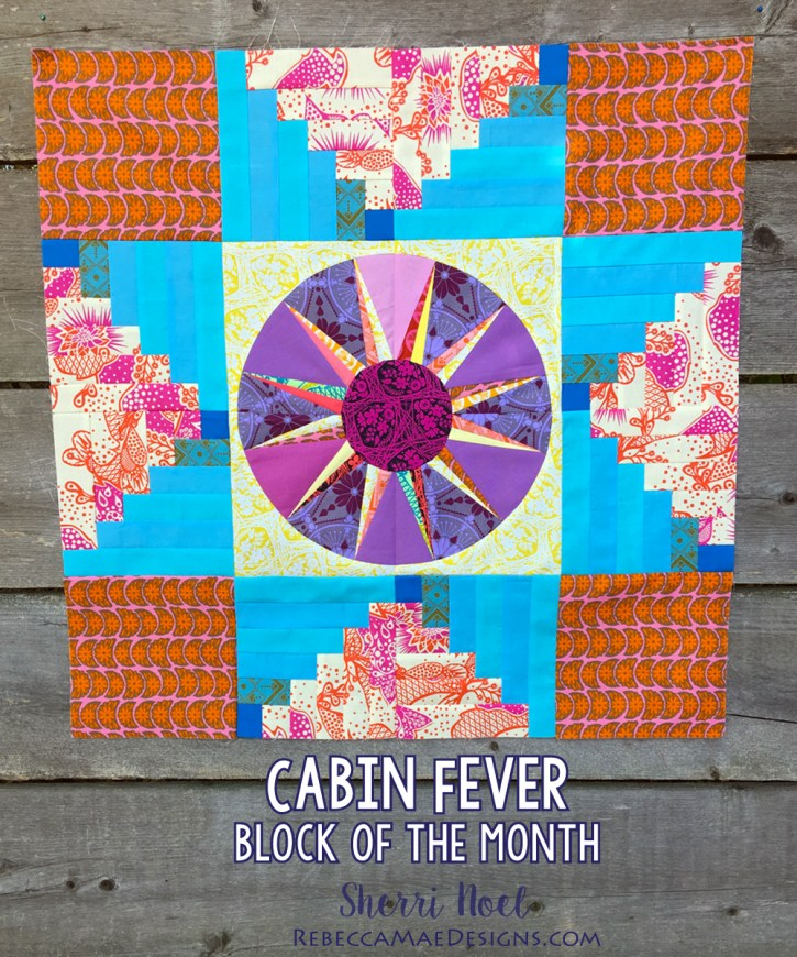 Cabin Fever Block of the Month Pattern