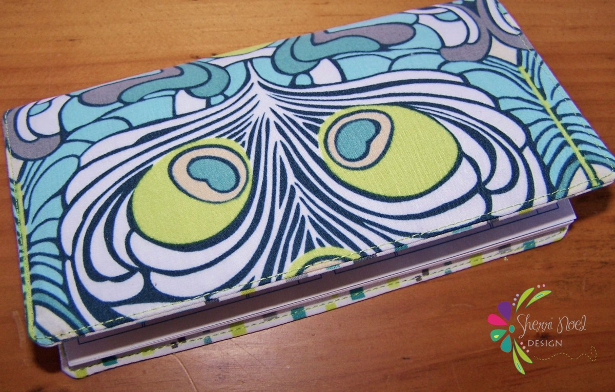 Simple Checkbook Cover Tutorial