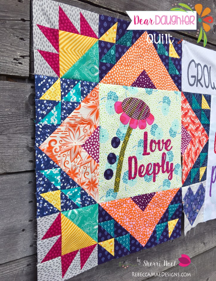 Dear Daughter Quilt Pattern Chapter 11
