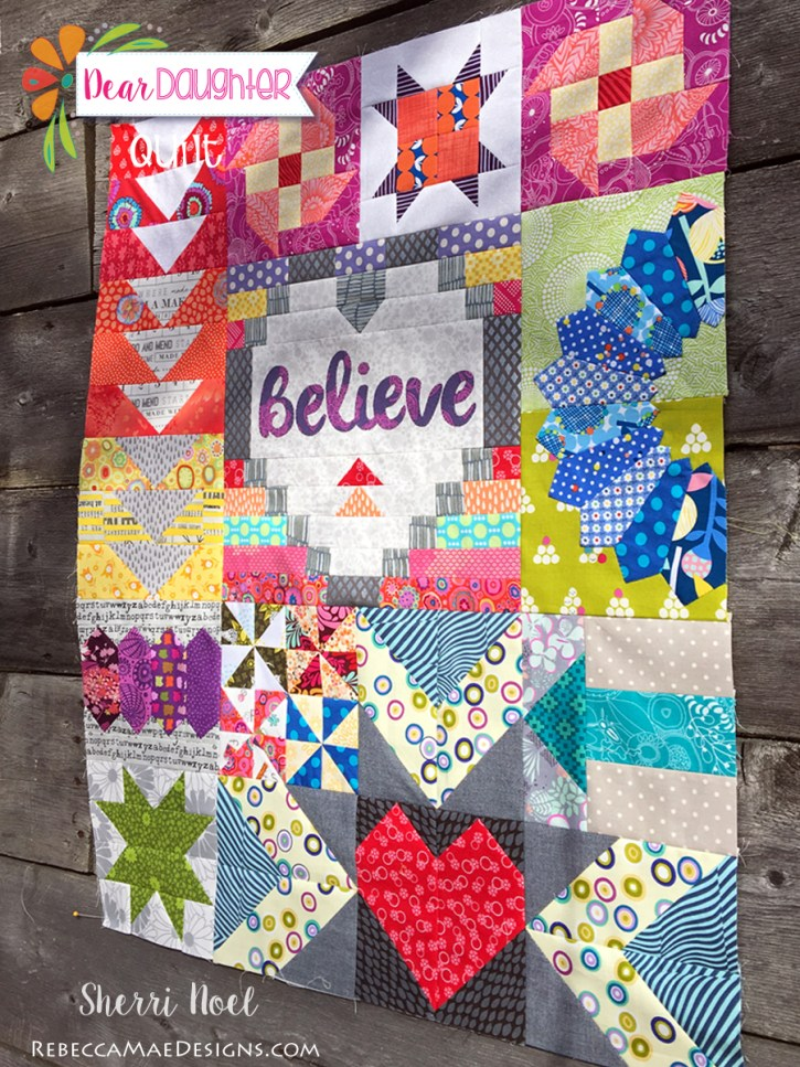 Block of the Month Quilt ~ Dear Daughter Chapter 12