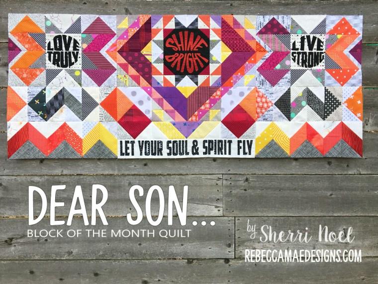 dear son quilt pattern