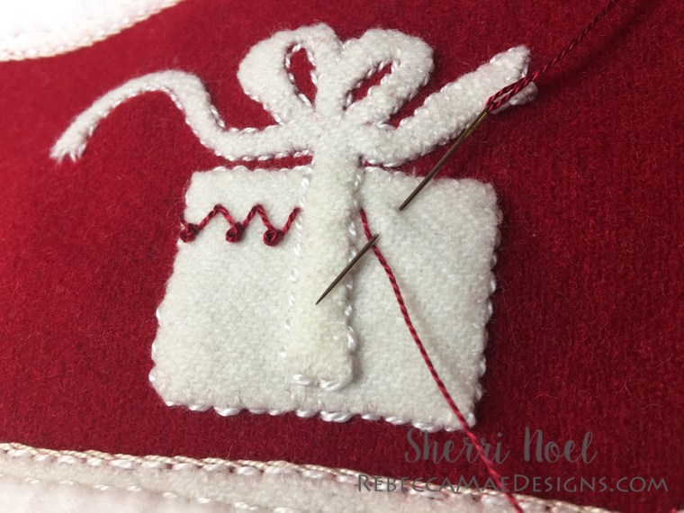 fly stitch and french knot