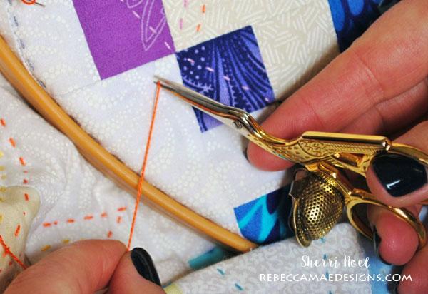 big stitch hand quilting tutorial