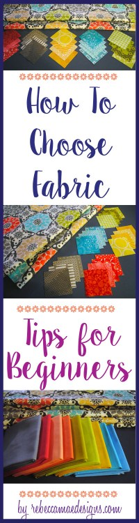 how to choose quilt fabric tips