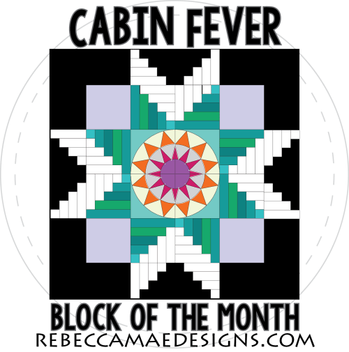 Block of the Month Quilt Pattern Cabin Fever
