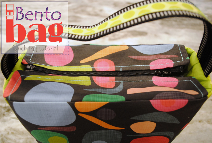 Bento Bag ~ A Lunch bag Tutorial