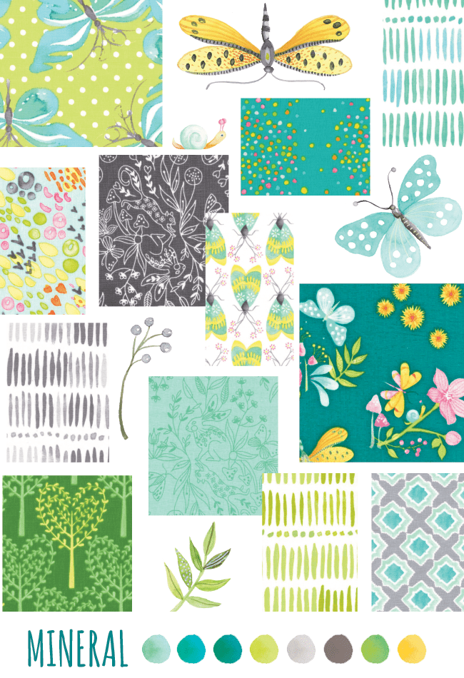 nature walk fabric