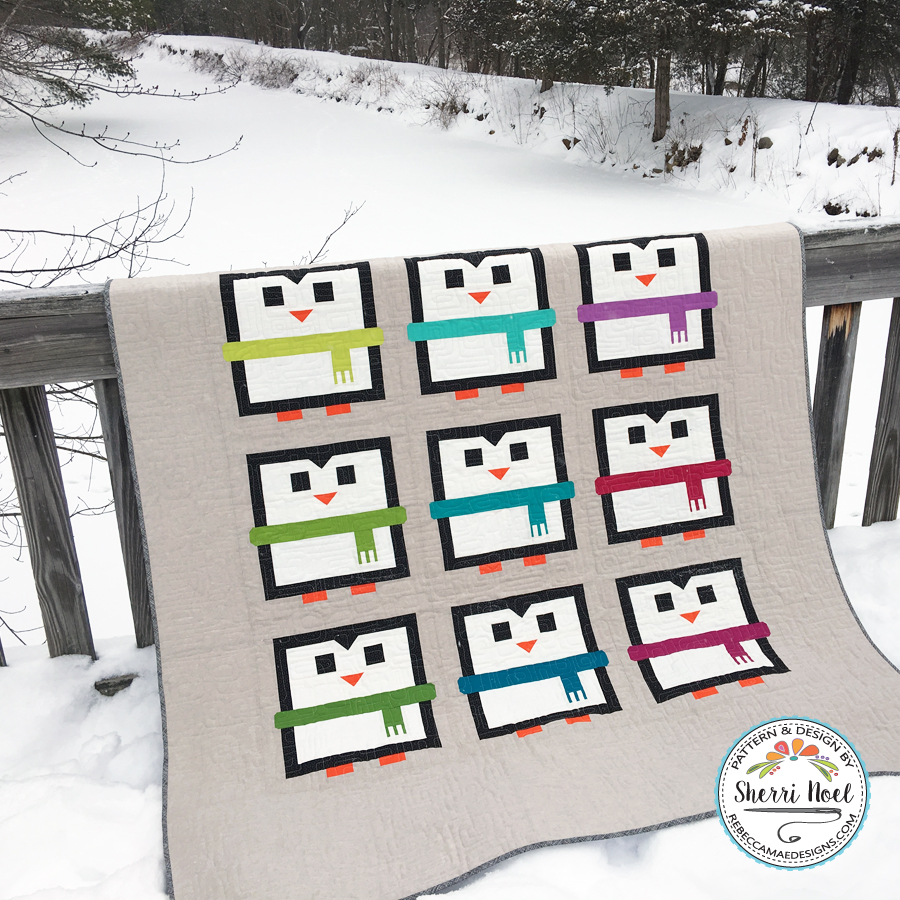 The Big Chill Penguin Quilt Pattern