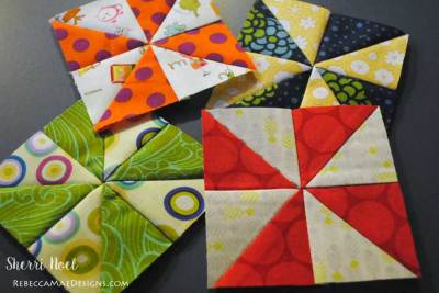 pinwheel quilt block tutorial