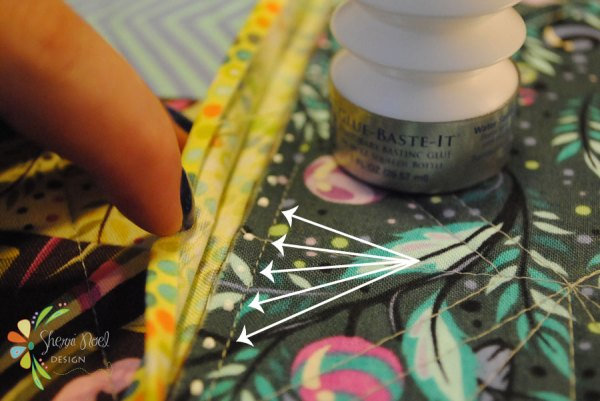 how to join quilt blocks