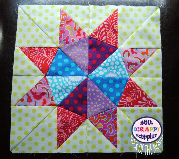 sampler block of the month