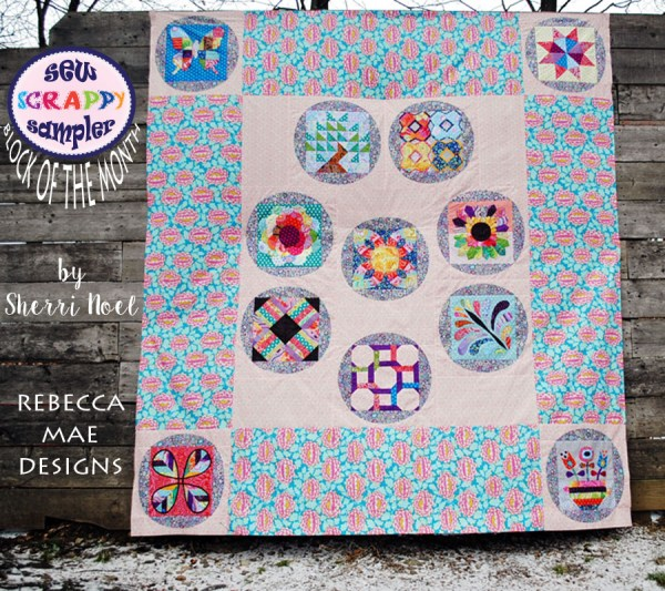 Block of the Month Sampler Quilt