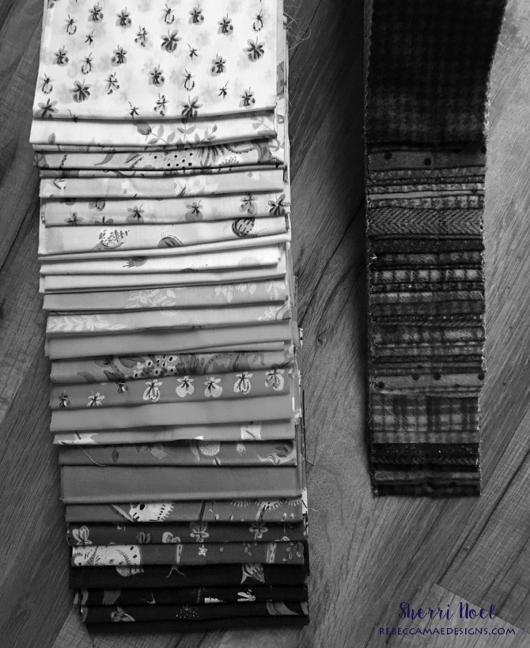 How to select fabric for a scrappy quilt
