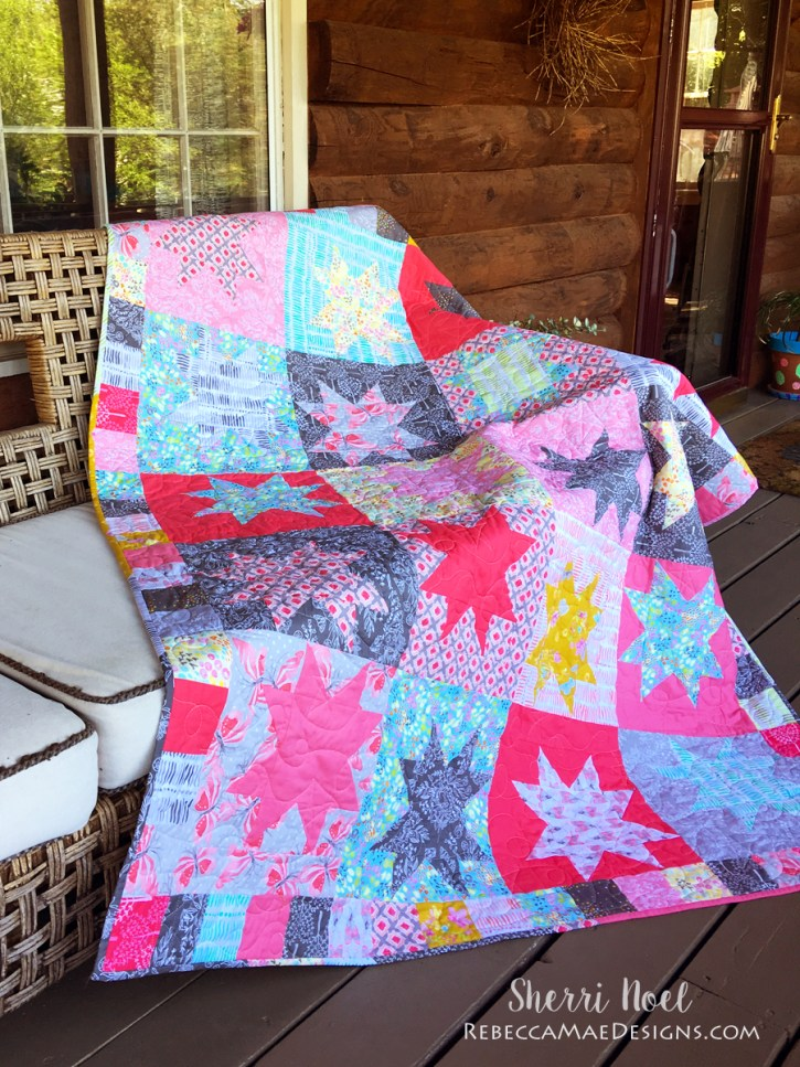 Star Struck Quilt ~ Piece and Quilt with Precuts Blog Tour