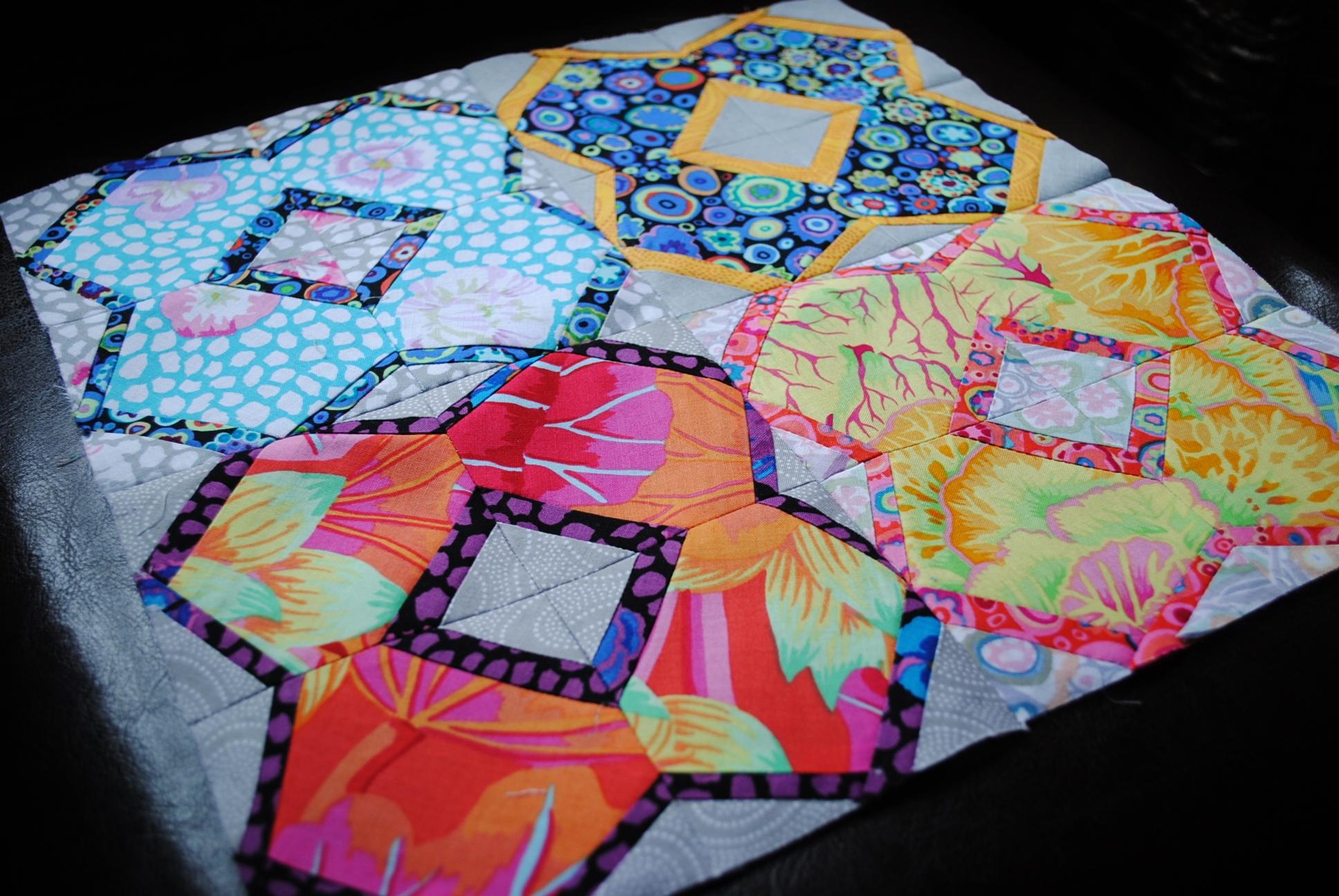 quilt block sampler