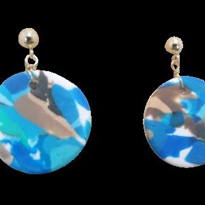 Circular Dangle Earrings #5