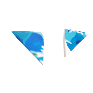 Triangle Stud Earrings #1