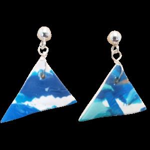 Triangle Dangle Earrings #3