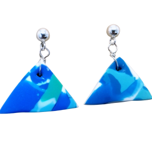Triangle Dangle Earrings #4