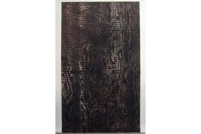 "Untitled, woodgrain print #3, 36"" x 48"" 2007"