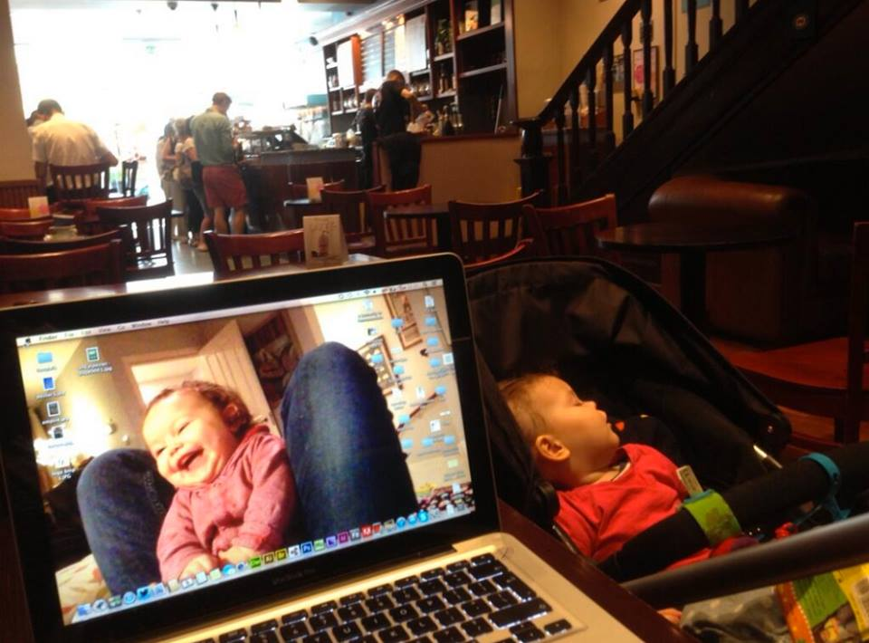 Working in Neros with the sleeping nipper
