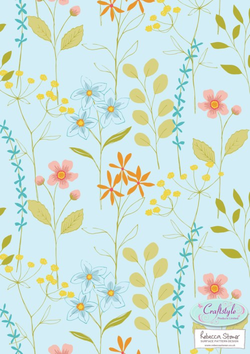 Botanical Papermaker pad 2 by Rebecca Stoner